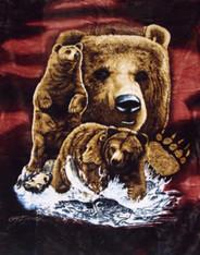 8 BROWN BEARS