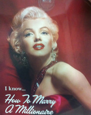 MARILYN MONROE HOW TO MARRY A MILLIONAIRE RED DRESS - R