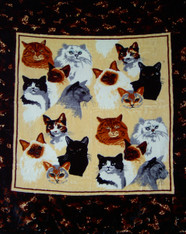ATJ CAT COLLAGE DOUBLE SIDED 2 PLY  -R