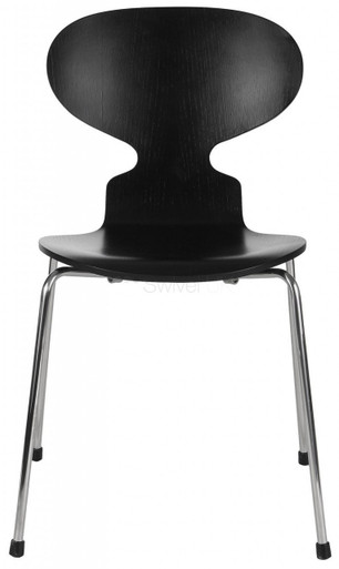 Replica arne jacobsen ant chair black 59 for Arne jacobsen stehlampe replica