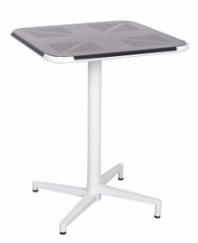 Folding and Stackable Cafe Table - Black