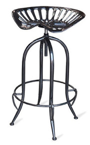 Tractor Stool Black