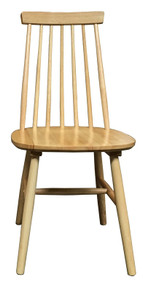 Natural High back Chair