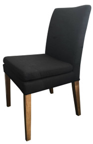 Black Fabric Giles Chair