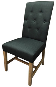 Dixon Fabric Chair in Black