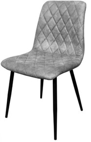Concrete Gray Chanel Chair