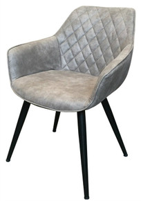Chanel Carver Grey Chair