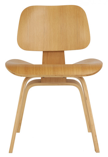 Natural Replica Eames Dining Chair Wood