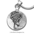 Whitetail Deer Keychain