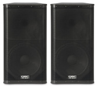 "2 x QSC KW152 1000W 15"" PA Speakers (100 People)"