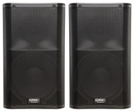 "2 x QSC K12 1000W 12"" PA Speakers (80 People)"