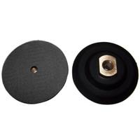 flexible backer velcro pad holder