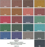 Consolideck GemTone Stain Color Chart