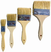 Chip Brushs Inexpensive throw away brush for putting up epoxy cove base or touch up painting and touch up projects.