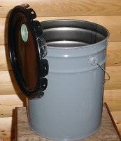 5 Gallon Metal Bucket