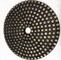 Metal Flex Dot Pad. Also Flexiable Metal Bond Vitrified Diamond Polishing/Grinding Pad