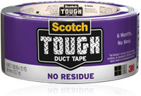 Scotch No Residue Duct Tape -12pk
