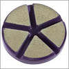 Ceramic Transitional Pads for use in between Metals and Resin grinding.