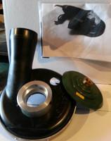 Convertible shroud kit for Metabo PE12-175 VS Polisher. Will make the grinder dustless.