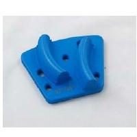 Diamatic Trojan II Noodle Diamond cake 6hole. DIAMATIC DIA709320H 18/20 GRIT TROJAN II DIAMOND WING HARD BOND (BLUE)