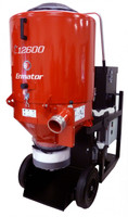 The Ermator T12600 is truly unique in the industry. With its incredible power (17.5HP 647CFM) and massive pre-filter area (over 40 sq. ft.), the T12600 will change the way many contractors choose to grind and polish concrete floors.