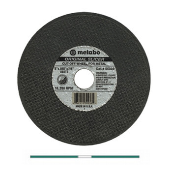 "Original Slicer - A60TZ • Fastest Cut • Flexible • Steel/Stainless Steel • 6"" x .040 x 7/8 655339000"