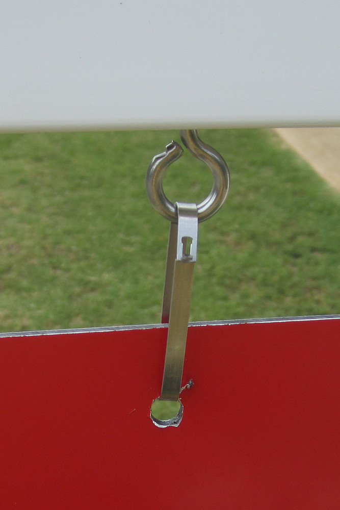 Stainless Steel Hardware Included