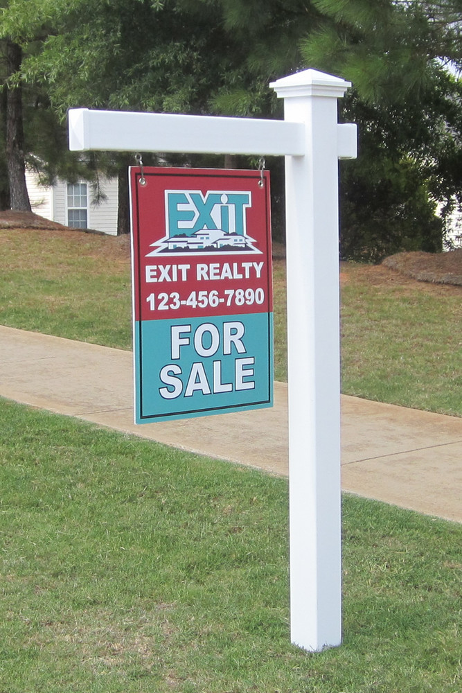 how to build a sign post real estate
