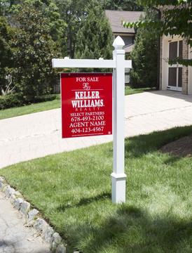 vinyl real estate post pvc yard signs sign post with stake