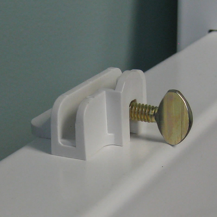 Rider Clips - White (Pack of 10)
