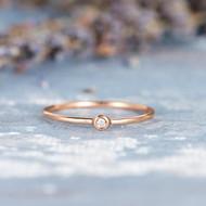 Wedding Band Women Stacking Ring