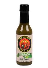 Branfords Originals Cilantro Lime Serrano Hot Sauce