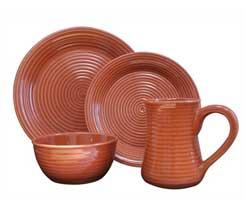 Serrano Terracotta Dinnerware