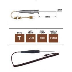 TME TM01 - T Type General Purpose (MI) Probe 100mm x 1.5mm