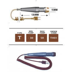 TH01 - T Type Handle For Plug Mounted Probes | Thermometer Point
