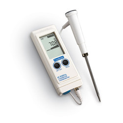 Hanna HI-93501NS High Accuracy Thermistor Thermometer Including Probe | Thermometer Point