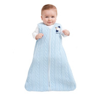 HALO® SleepSack® Wearable Blanket Cotton Sweater Knit | Blue