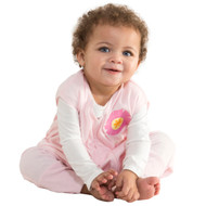 HALO® SleepSack® early walker Lightweight Knit  | Pink Flower