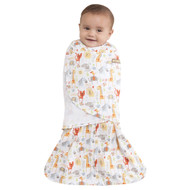HALO® SleepSack® swaddle 100% Cotton  |  Yellow Jungle Pals