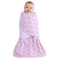 HALO® SleepSack® Swaddle Micro-Fleece  |  Pink Floral Burst