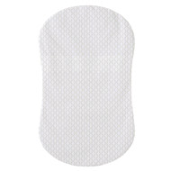 HALO® Bassinest™ fitted sheet  |  100% Polyester White Honeycomb