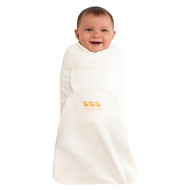 HALO® SwaddleSure® Adjustable Swaddling Pouch  100% Cotton  |  Cream