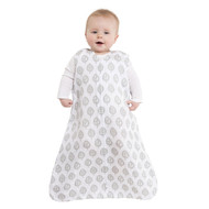 HALO® SleepSack® wearable blanket 100% Cotton Muslin  |  Gray Tree Leaf
