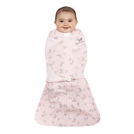 HALO® SleepSack® Swaddle 100% Cotton  |  Pink Butterfly Scribble