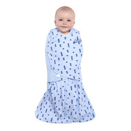 HALO® SleepSack® Swaddle 100% Cotton  |  Denim Triangle