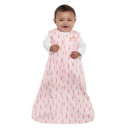 HALO® SleepSack® Wearable Blanket 100% Cotton  | Pink Feathers