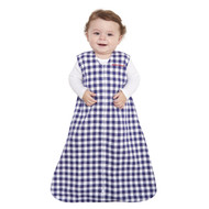 HALO® SleepSack® Wearable Blanket 100% Cotton  | Navy Check