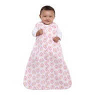 HALO® SleepSack® wearable blanket Micro-Fleece  |  Pink Medallion Watercolor