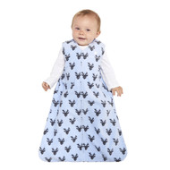 HALO® SleepSack® wearable blanket Micro-Fleece  | Blue Oh Deer