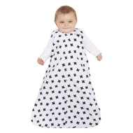 HALO® SleepSack® wearable blanket Micro-Fleece  | Black and White Plus Signs